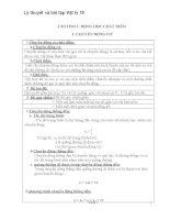 Lý thuyết và bài tập vật lý 10