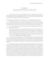 Giáo trình quản trị nguồn nhân lực   chương 2   chiến lược