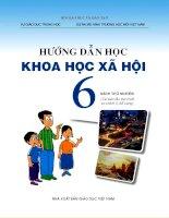 Sách giáo khoa môn khoa học xã hội lớp 6 theo chương trình vnen