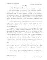 Giải pháp nâng cao chất lượng tín dụng đối với hộ sản xuất tại NHNo&PTNT huyện Hoa Lư - tỉnh Ninh Bình