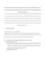 BÁO cáo họp TỔNG kết HOẠT ĐỘNG 9 THÁNG đầu năm của BAN CHỈ đạo CÔNG tác AN TOÀN vệ SINH THỰC PHẨM THÀNH PHỐ hà nội, PHƯƠNG HƯỚNG TRIỂN KHAI NHIỆM vụ 3 THÁNG CUỐI năm 2013