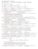 Chuyên đề hóa ôn thi đại học chuyên đề 9   dẫn xuất halogen   ancol   phenol