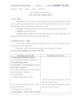 Giáo án ôn tập tiếng việt lớp 5, tuần 28