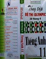 tổng hợp đề thi olympic 30 tháng 4 tiếng anh 11 năm 2007