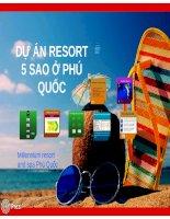Dự án resort 5 sao ở phú quốc