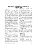 NGHIÊN cứu VAI TRÒ nội SOI CHẨN đoán và điều TRỊ ĐAU BỤNG cấp ở PHỤ nữ TUỔI SINH đẻ