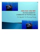 Bài giảng hóa học dầu mỏ   dầu mỏ và khí