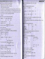 Phân Dạng Và Phươg Pháp Giải Bài Tập Hoá Học 11 Phần Vô Cơ Phần 3