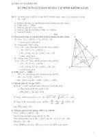 Tuyển chọn một số bài toán hình học không gian lớp 11 hay (có lời giải chi tiết)