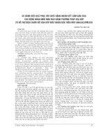 SO SÁNH HIỆU QUẢ PHỤC hồi CHỨC NĂNG NHẬN BIẾT cảm GIÁC ĐAU CHO BỆNH NHÂN NHỒI máu não BẰNG PHƯƠNG PHÁP XOA bóp có hỗ TRỢ điện CHÂM với XOA bóp đơn THUẦN dựa TRÊN máy ANALGESYMETER