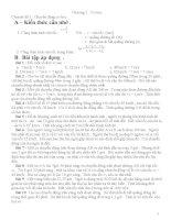 Bài tập vật lý nâng cao cho HSG lớp 8