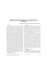 NGHIÊN cứu TÌNH TRẠNG NHIỄM VIRUS VIÊM GAN b ở PHỤ nữ có THAI tại THÀNH PHỐ THÁI BÌNH và KHẢ NĂNG lây TRUYỀN từ mẹ SANG CON