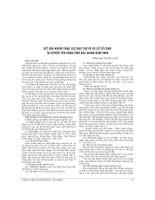 KẾT QUẢ KHÁM SÀNG lọc UNG THƯ vú và cổ tử CUNG tại HUYỆN yên DŨNG TỈNH bắc GIANG năm 2009