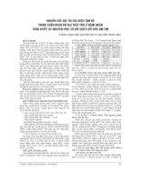 NGHIÊN cứu GIÁ TRỊ của điện tâm đồ TRONG CHẨN đoán PHÌ đại THẤT TRÁI ở BỆNH NHÂN TĂNG HUYẾT áp NGUYÊN PHÁT có đối CHIẾU với SIÊU âm TIM
