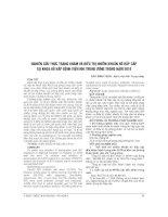 NGHIÊN cứu THỰC TRẠNG KHÁM và điều TRỊ NHIỄM KHUẨN hô hấp cấp tại KHOA hô hấp BỆNH VIỆN NHI TRUNG ƯƠNG TRONG năm 2010