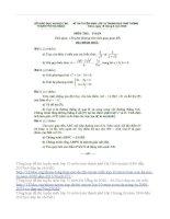 Tổng hợp đề thi tuyến sinh lớp 10 môn toán đà nẵng từ năm 1998 đến 2015