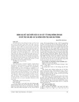 ĐÁNH GIÁ kết QUẢ bước đầu 32 CA cắt tử CUNG ĐƯỜNG âm đạo có hỗ TRỢ của nội SOI tại BỆNH VIỆN PHỤ sản hải PHÒNG