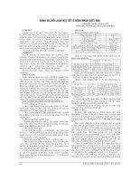 ĐÁNH GIÁ rối LOẠN nội TIẾT ở BỆNH NHÂN CHẾT não