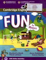 Fun for movers student book third edition a
