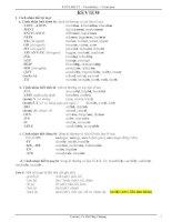 Từ vựng, ngữ pháp tiếng anh lớp 12 (bài 1   16)
