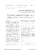 ỨNG DỤNG GIẢI THUẬT DI TRUYỀN vào bài TOÁN vận tải TUYẾN TÍNH