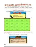 Tổng hợp đề thi violympic môn Toán lớp 3 (Giải toán trên mạng lớp 3)