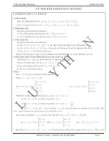 Chuyên đề khảo sát hàm số (Lưu Huy Thưởng)