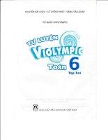 Bộ đề tự ôn thi violympic môn Toán lớp 6 Tập 2