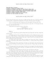 Tài liệu ôn thi công chức năm 2011 phần ( hành chính và luật)