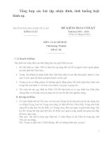 Ôn tập luật hình sự phần chung và phần riêng