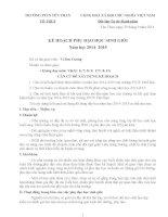 Kế hoạch bồi dưỡng học sinh giỏi Vật lý cấp Tỉnh THCS