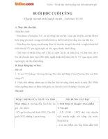 Giáo án ngữ văn 6 bài 22 buổi học cuối cùng