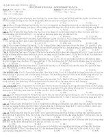 Tài liệu hóa học vô cơ 12  Lớp A1: Chuyên đề kim loại  hợp kim bài tập (N1