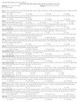 Tài liệu hóa học vô cơ 12  Lớp A1: Chuyên đề dãy điện hoá kim loại bài tập (N2)