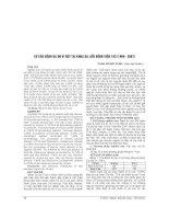 CƠ cấu BỆNH DA DO VI rút tại KHOA DA LIỄU BỆNH VIỆN 103 (1998   2007)