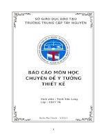 BÁO CÁO MÔN HỌC CHUYÊN ĐỀ Ý TƯỞNG THIẾT KẾ Xây dựng hệ thống nhận dạng thương hiệu cho cửa hàng kem Hoa Việt