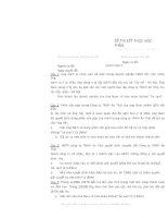 tổng hợp đề thi pháp luật kinh tế (luật doanh nghiệp)