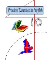 Practical exercises in english 10 with key