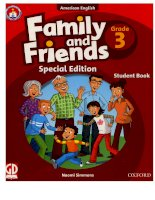 Family and friends grade 3 special edition student book