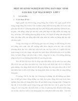 SKKN một số KINH NGHIỆM HƯỚNG dẫn học SINH GIẢI bài tập MẠCH điện  lớp 9
