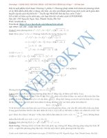 Chinh phục phương trình   bất phương trình đại số tập 1 (hồ văn diên)