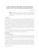 Cơ sở lý luận của việc chữa lỗi phát âm và lỗi chính tả đối với cặp phụ âm l n cho sinh viên