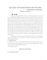 MỘT số SAI lầm của học SINH KHI TÍNH TÍCH PHÂN