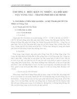 Luận văn tốt nghiệp: Công tác phòng chống môi trường đo hoạt động hàng hải khu vực thành phố Hồ Chí Minh  Vũng Tàu