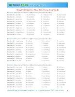 Chuyên đề ngữ âm tiếng anh trọng âm ( tập 2)