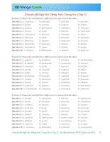 Chuyên đề ngữ âm tiếng anh  trọng âm ( tập 1)