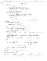 ôn tập toán 9 thi vào lớp 10