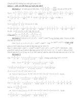 Chuyên đề bồi dưỡng học sinh giỏi toán 6,7,8