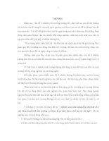 KHÓA LUẬN NGHIÊN CỨU KHẢ NĂNG HẤP PHỤ KHÍ SO2 BẰNG VẬT LIỆU HẤP PHỤ ĐƯỢC ĐIỀU CHẾ TỪ LÕI NGÔ