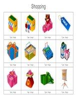 Những thiết kế clipart 3D đẹp dùng trong thuyết trình về shopping